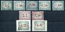 SAN MARINO PORTO 1897 9,16-17 gestempelt etc 110€(J9012