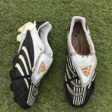 Adidas Predator Absolute FG UK 9.5 Black White Champions League Ed