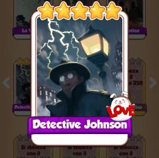 Coin Master cards carta Speciale Detective Jhonson
