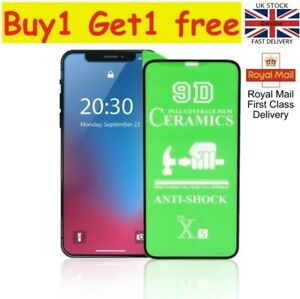 Screen Protector for iPhone  X XR 11 11pro max 12 12 pro 12mini XS pro (2 for 1)