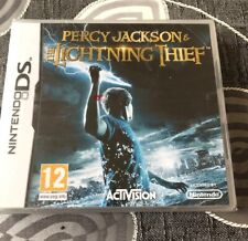 Percy Jackson & The Lightning Thief (Nintendo DS, 2010) - NEW AND SEALED