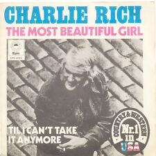 CHARLIE RICH The Most Beautiful Girl, Til I Can't FR Press Epic EPC 2022 1973 SP