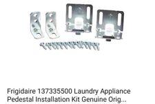 Frigidaire 137335500 Laundry Appliance Pedestal Installation Kit Genuine