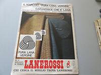 Advertising On Pag. Original Years 50/60 Vintage Lanerossi And Ferrari