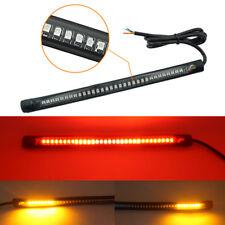 Flexible Motorcycle 48 SMD LED Light Strip Bar Brake Cornering Turn Signal Lamp