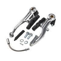 Manubrio Curvo RMS in Alluminio Lucido per Bici 26-28 Trekking Strada 0020