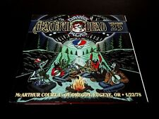 Grateful Dead Dave's Picks 23 Oregon Ducks Mac Court Eugene OR 1/22/1978 3 CD