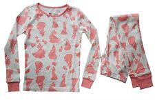 Gap Girl Disney Aurora Sleeping Beauty Pink Glitter Top Pyjamas Set 6-12y 8 Years