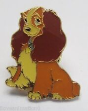 Disney Pin Pics 5385 DS Lady and the Tramp 40th Anniversary Tin Lady Pin