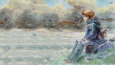 """344 Hot Anime Cartoon Character - Nausicaa of the Valley Wind 43""""x24"""" Poster"""