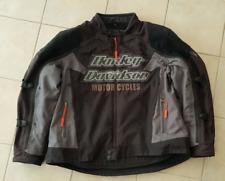 "HD Genuine Harley-Davidson ""Riding Gear"" Switch Back textile jacket 2n1 XXL"