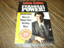 ANTHONY ROBBINS PERSONAL POWER #2 CASSETTE SET HOW TO SHAPE YOUR DESTINY NOW