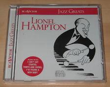 Lionel Hampton - Jazz Greats (CD 1997). Ex Cond