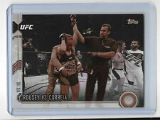 Ronda Rousey 2015 UFC Chronicles Rousey vs Correia Sepia 1/1 MMA Pack Pulled