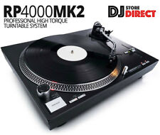RELOOP RP-4000 MKII Professional High Torque Direct Drive Turntable + Cartridge
