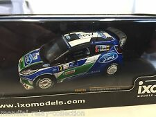 Ford Fiesta RS WRC D.Sordo Rally Argentina 12- 1/43 IXO VOITURE DIECAST - RAM516