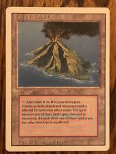 MTG Dual Land Volcanic Island, Revised, Magic The Gathering, Great Condition LP