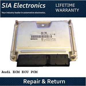 Audi A6 ECM ECU PCM Engine Computer Repair & Return Audi ECM Repair