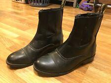 Saxon paddock boots size 8