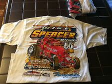 Nos vintage mike spencer  SPDWY, Sprint Race Car T-shirt size m