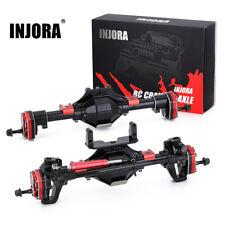 INJORA Aluminum Front/ Rear Portal Axle for 1:10 RC Axial SCX10 & SCX10 II 90046