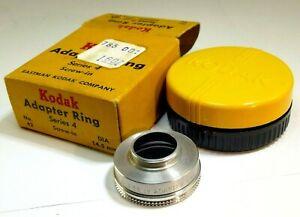 Kodak Serie 4 IV Adattatore N.42 Infilare Su Per 14.5mm Filettato Filtro Anello