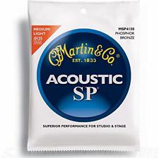 Martin SP 92/8 Acoustic Guitar Strings - Phosphor Bronze Wound Light/Medium.0125