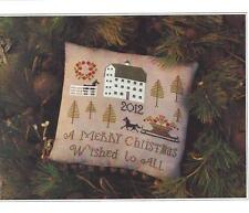 """FARMSTEAD CHRISTMAS"" Cross Stitch Pattern ~  PLUM STREET SAMPLERS"