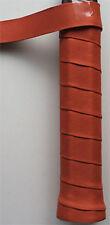 Lederband Super Quality Leather - 5er braun - breit