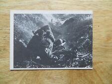 1964 VINTAGE DONRUSS WWII COMBAT TV SHOW GUM CARD # 52 PRISON CAMP ESCAPE