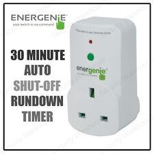 30 MINUTE AUTO SHUT OFF Energy Saver FIRE SAFETY TIMER Plug Socket Energenie