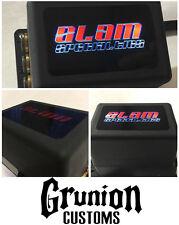 "Slam Specialties 4 Corner Solenoid Valve 200 PSI 3/8"" Ports New w/ LED lit logo"