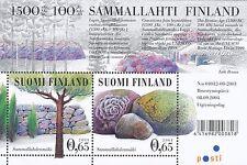 Finland 2004 Mnh Sheet - Sammallahdenmäki - Unesco World Heritage
