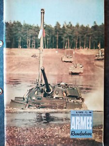 Armee Rundschau 5/1972, DDR, ungelesenes Belegexemplar