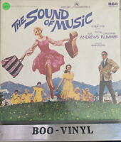 SOUND OF MUSIC SOUNDTRACK VINYL LP RECORD EX CON