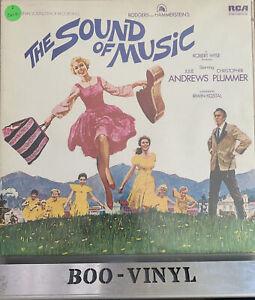 SOUND OF MUSIC SOUNDTRACK VINYL LP RECORD EX CON