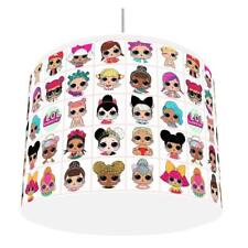 LOL DOLLS LIGHT SHADE GIRLS KIDS ROOM matches duvet set  NEW