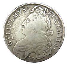 More details for 1698 william ii of scotland silver 40 shillings coin