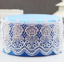 Sugar Craft Lace Mold Silicone Fondant Mat Mould Cake Decorating Baking Tool LG
