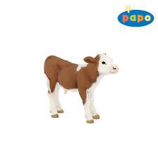 TERNERO Simmental 8cm animales de granja Papo 51134