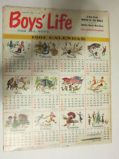 BOYS LIFE MAGAZINE January 1961 A New Serial, Winter Of The While VINTAGE