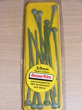 BesserTrim Nylon Brushcutter Strimmer Line Brush Cutter Cord - 3mm, Pack Of 10