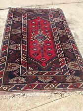 Turkish Anatolian Handknotted Dosmealti Carpet Rug 4'x6' Excellent Condition