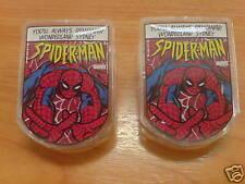 2pcs Genuine Marvel SPIDERMAN CPU/FRIDGE MAGNET w/ CLIP