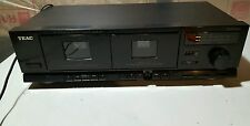 Used TEAC W-410 Dual Cassette, Hi Speed Dubbing, Duplicator, Dolby, Tape Select