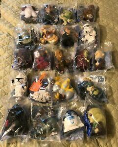 Set of 21 2005 Burger King Star Wars Toys