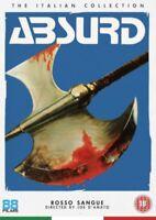 Nuevo Absurd DVD