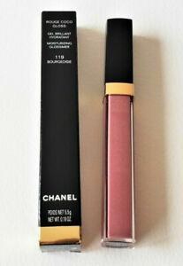 Chanel Rouge Coco Gloss Moisturizing Glossimer 119 BOURGEOISIE 0.19 OZ NWB