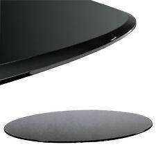 Glasplatte Schwarz Rund Ø 70 cm Glasscheibe für Glastisch ESG Glasboden