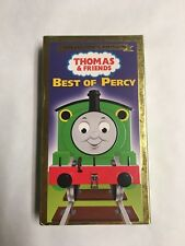 Thomas the Tank Engine - The Best of Percy (VHS, 2001) Family Children